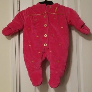 Juicy Couture snow suit